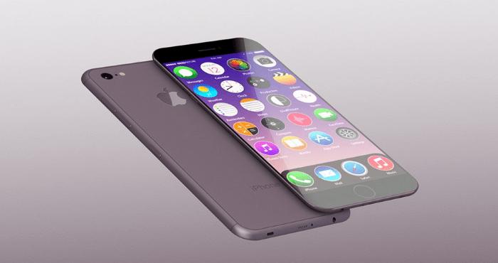 Водонепроницаемый смартфон с функцией беспроводной зарядки, iPhone 7