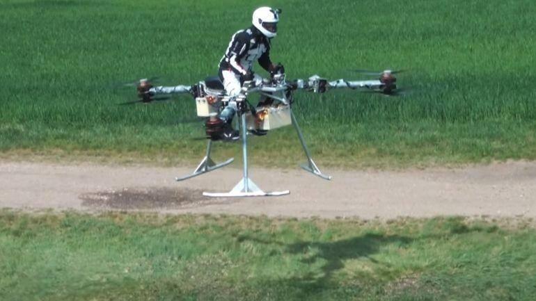 Недавно трикоптер Flike испытали в полёте