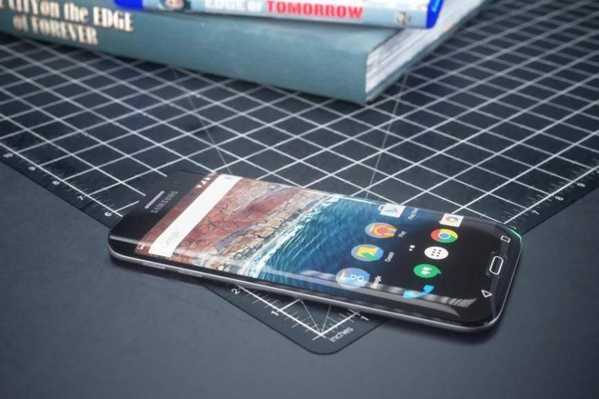 Изогнули с трех сторон, Samsung Galaxy S7 edge