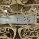 20469 Деревянные механические часы пишут каждую минуту