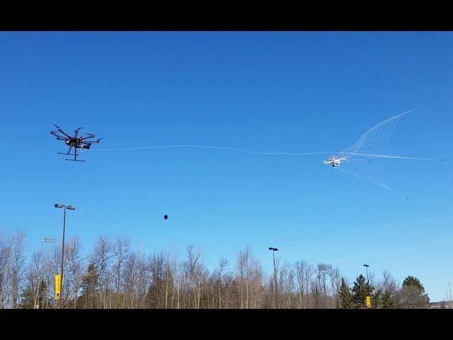 20509 Надежный способ борьбы с дронами-нарушителями