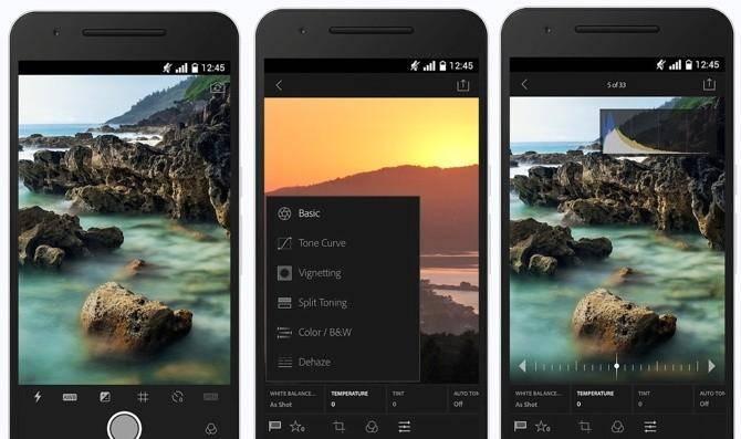20542 Adobe Photoshop Lightroom 2.0 для Android научился работать с RAW