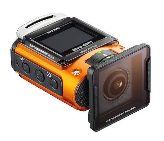 С поддержкой съёмки 4K-видео Экшн-камера Ricoh WG-M2