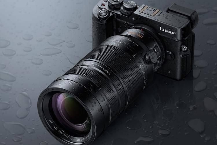 Телеобъектив Lumix G Vario 100-400 мм / F4.0-6.3 ASPH / Power O.I.S.