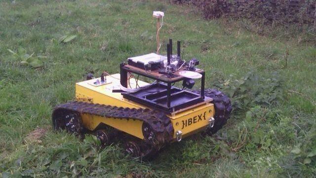 Мега робот-фермер