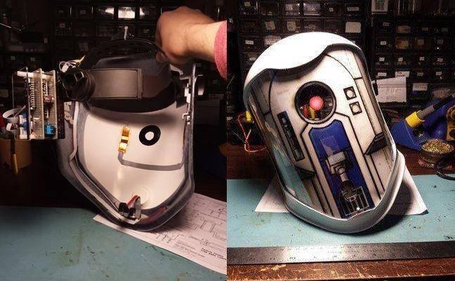Шлем-переводчик для общения на языке робота R2-D2