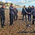 20600 Пролив Ла-Манш перелеел первый в мире дрон