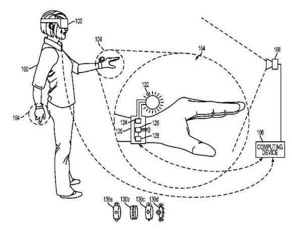 20626 Sony запатентовала VR-перчатки для PlayStation VR