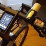20678 Уникальный велосипед с лазерами и встроенной ОС Android