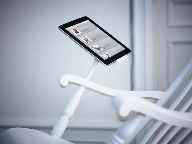 20761 Зарядить гаджет поможет кресло-качалка