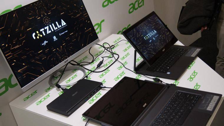 Новая док-станция с видеокартой для ноутбуков