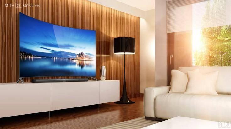 20877 Впервые изогнутый телевизор Xiaomi
