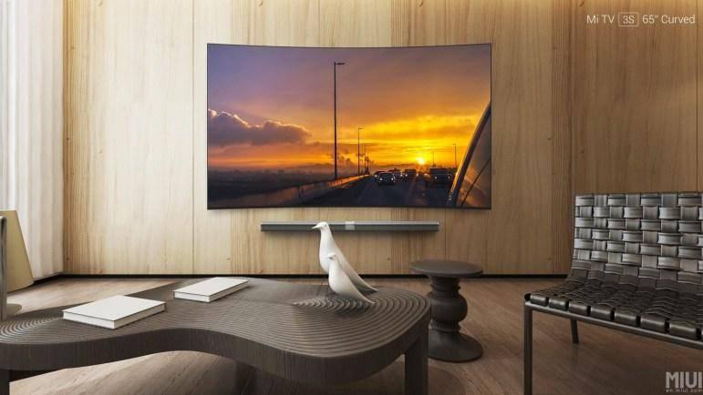 Впервые изогнутый телевизор Xiaomi