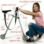 21003 Велосамокат для городских улиц