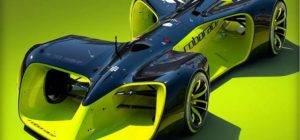 21016 Беспилотный болид для гонок Roborace