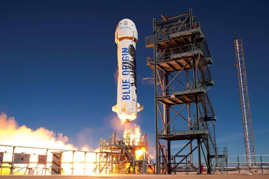 Третье успешное приземление корабля New Shepard