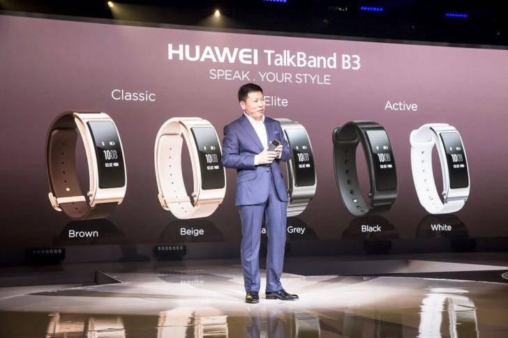 Huawei TalkBand B3 — фитнес-браслет