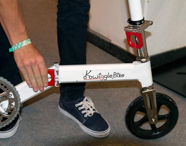21077 Велосипед с необычной конструкцией