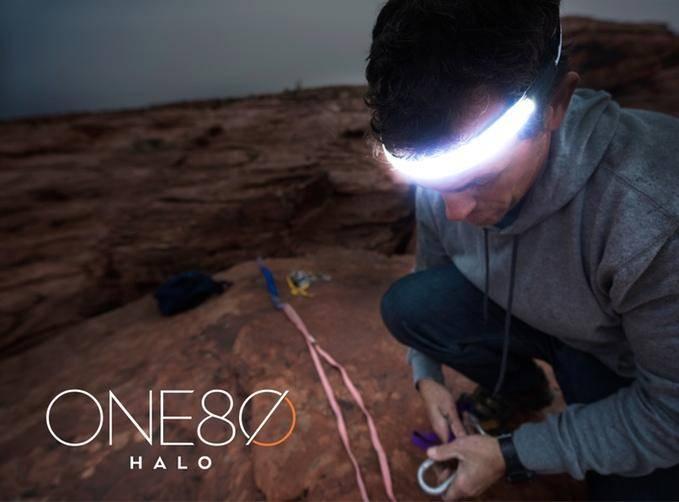 180-градусный нательный LED-фонарик