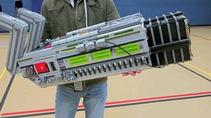 21153 Doom BFG 9000 из конструктора LEGO