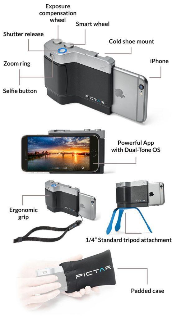 Фоточехол, управляющий камерой iPhone