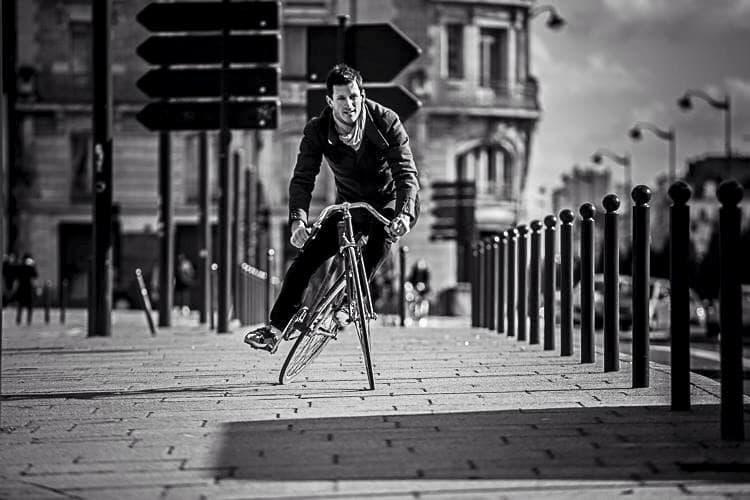 Велосипед с подвижной рамой