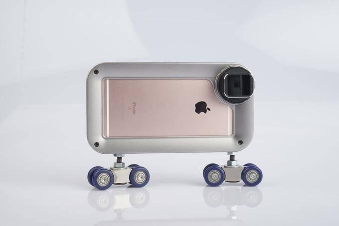 Чехол для увлечённых съёмками мобильных репортажей