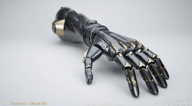 Open Bionics разрабатывает протезы в стиле Deus Ex