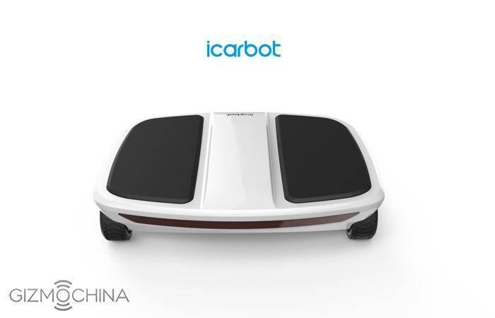 F-Wheel iCarbot — гироскутер с четырьмя колесами