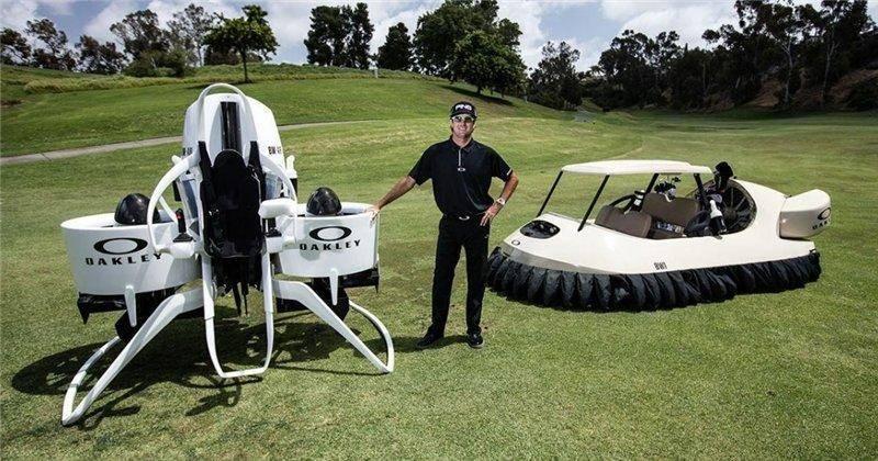 Реактивный ранец для гольфистов