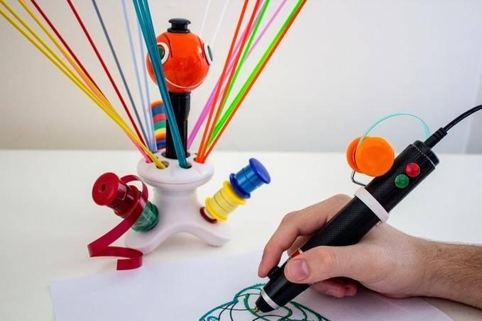 22387 3D-ручка, использующая остатки пластиковых бутылок