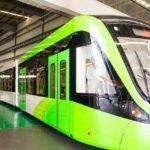 22392 Китайский трамвай без проводов заряжается во время остановок