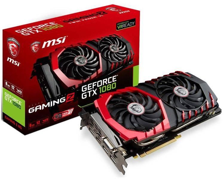22601 Обзор MSI GeForce GTX 1080 GAMING Z
