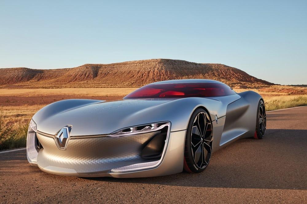 Trezor — электрокар Renault с вызывающим дизайном
