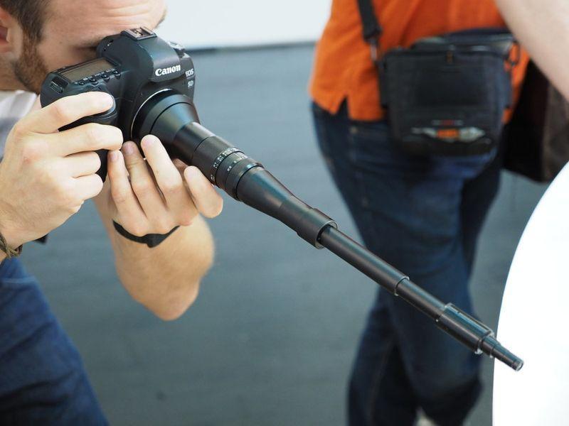 22809 Представлен необычный объектив для фотоохоты