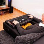 38429 Couchmaster — компьютерный стол для диванных пользователей (6 фото)