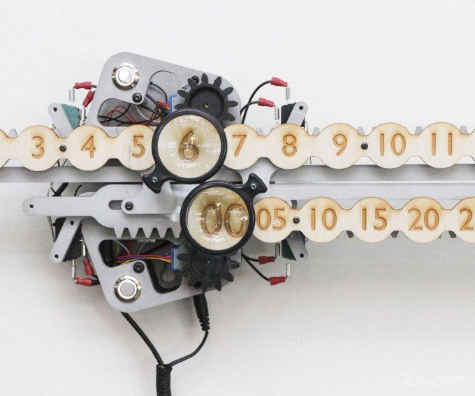 38789 «Линейные» часы можно сделать самостоятельно (3 фото + видео)