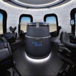 38619 Вид туристической капсулы New Shepard для космических полётов изнутри (4 фото)