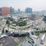 39777 Автостраду в центре Сеула превратили в ботанический сад (19 фото)