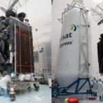 39640 Falcon 9 вывел на орбиту сверхтяжелый спутник Inmarsat-5 F4 (5 фото + видео)