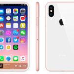 39552 Новые рендеры iPhone 8 показывают бескрайний дисплей и розовый цвет корпуса