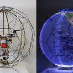 39378 Сферический рекламный LED-дрон из Японии (видео)