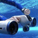 40066 Миниатюрный подводный скутер WhiteShark MIX (6 фото + видео)