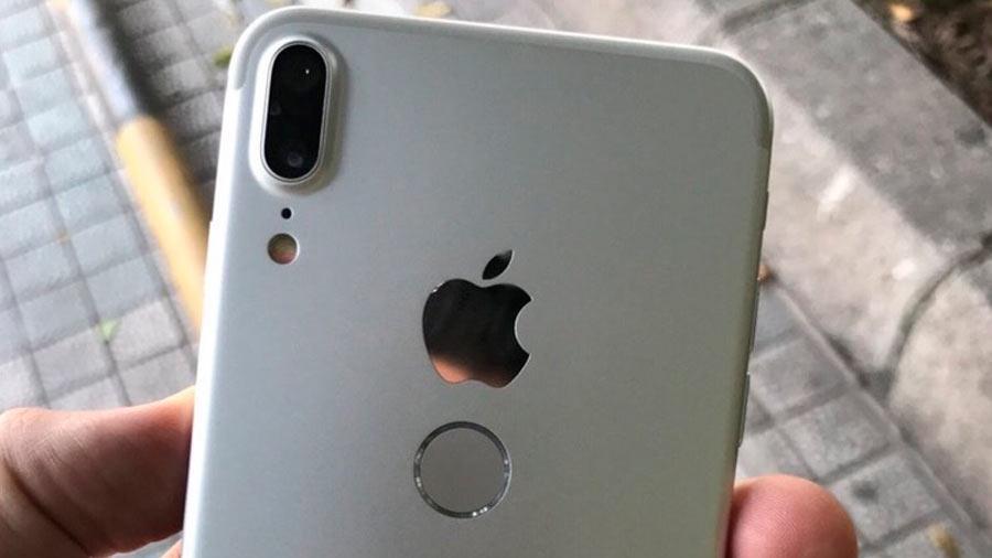 40020 Появились фотографии iPhone 8 с расположенным сзади Touch ID