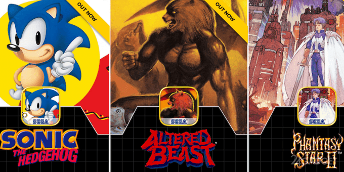 40316 Вспомни детство: владельцы гаджетов могут поиграть в старые игры для Sega (видео)