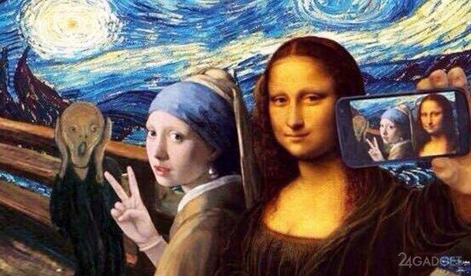 40619 Селфи наносят ущерб современному искусству (3 фото + видео)