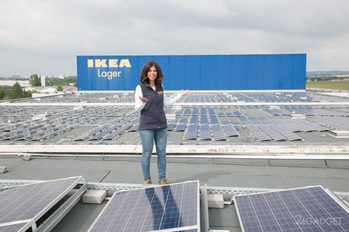 41211 IKEA начинает продажу домашних солнечных панелей и аккумуляторов (6 фото)