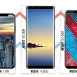 41088 iPhone 8, Galaxy Note 8 и LG V30 сравнили между собой