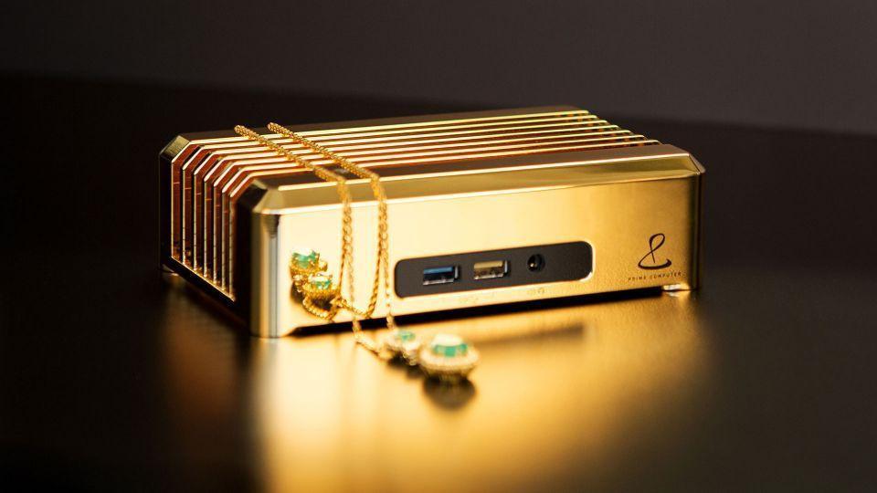 41595 Он ваш за 1 млн долларов: золотой мини-ПК
