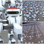 41547 Танцующие роботы установили новый мировой рекорд (видео)